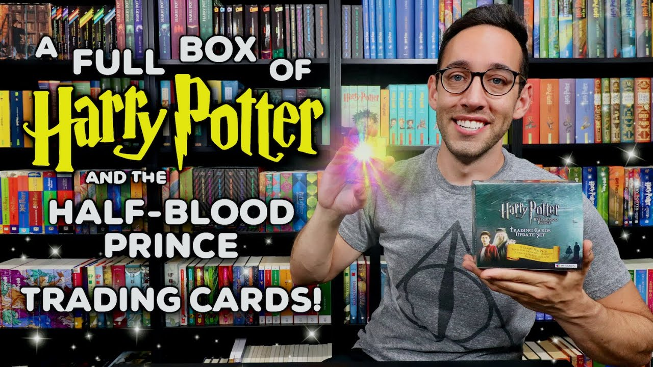 Opening a FULL Box of Harry Potter Trading Cards | Half-Blood Prince Artbox