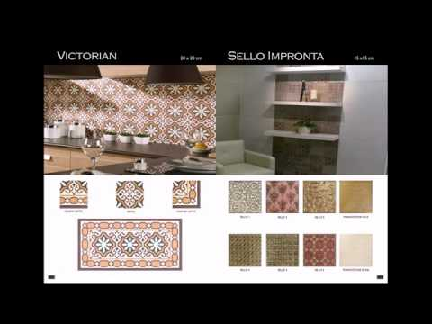 Imported tiles from Italy and Spain.