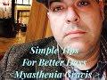 Myasthenia Gravis Awareness - Nutrition Tips for Better Days