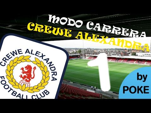 FIFA 17- MODO CARRERA CON EL CREWE ALEXANDRA- EMPEZAMOS UNA LEYENDA- EP 1