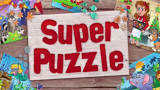 Super Puzzle: Jigsaw Puzzles for Kids - App Gameplay Video