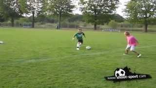 طفل بولندي بمهارات كرة قدم خارقة ورائعة [موهوب جداً]