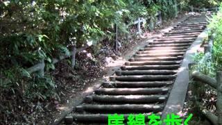 府中熊野神社古墳からへハケの道散策.wmv