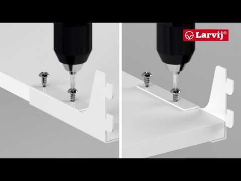 larvij гардеробная система как собрать