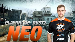 CS:GO - Virtus.pro NEO playing de_dust2 with subscribers