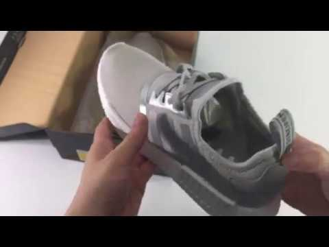 ua adidas nmd r1 s76004 unboxing revisione su youtube