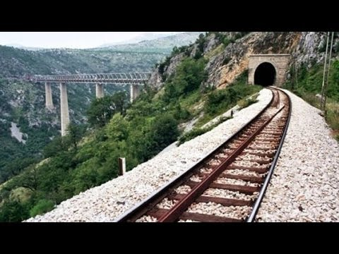 Pruga Beograd Bar Kanjon Morace Belgrade Bar Railway Youtube