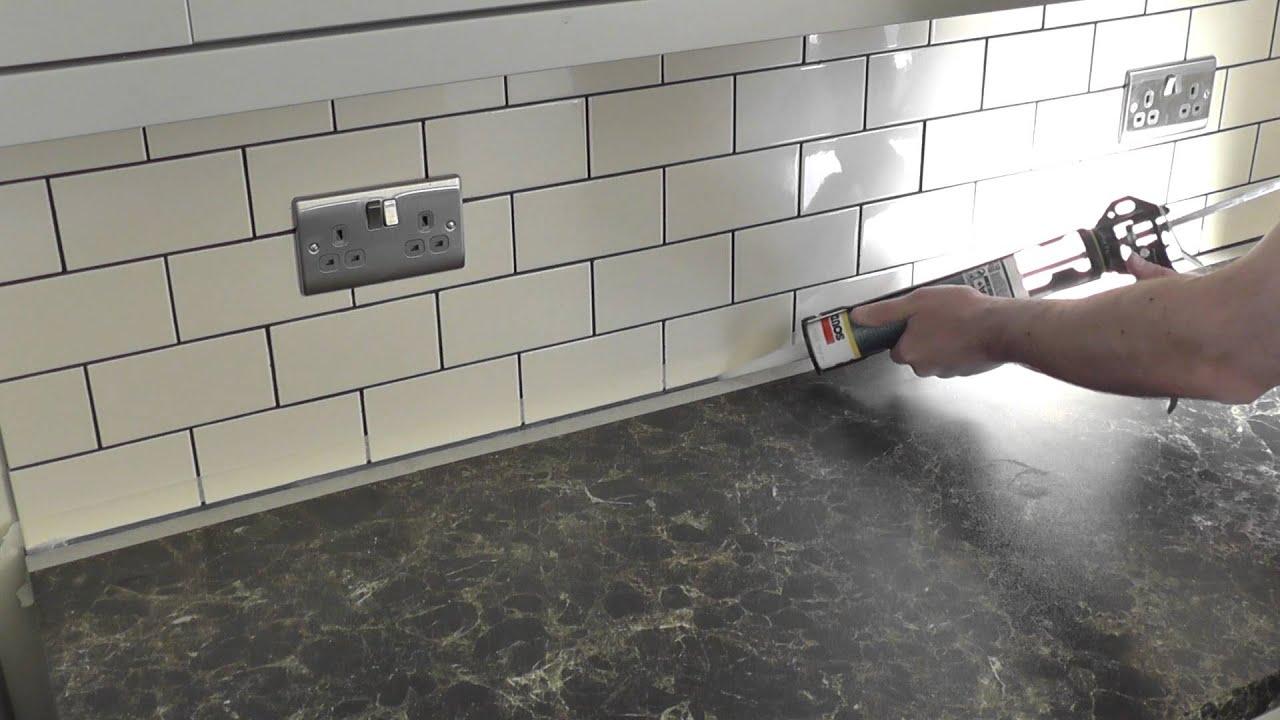 - DIY: How To Caulk / How To Apply Silicone Sealant - YouTube