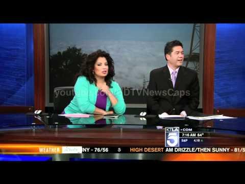 Sam Rubin (Samuel L Jackson / Laurence Fishburne reporter) shows how dumb he is on live TV