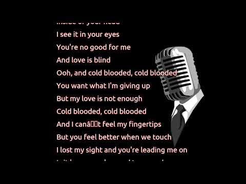 Khalid - Cold Blooded (lyrics)