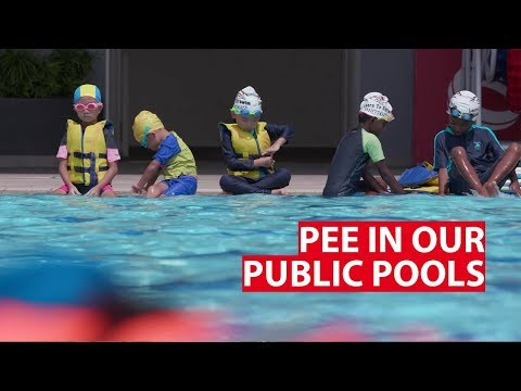 Pee in Our Public Swimming Pools | Why It Matters | CNA Insider