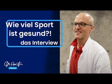 Wie viel Sport ist gesund?   Dr.Heart