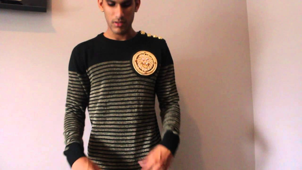a look at balmain x h m hoodie and sweater youtube