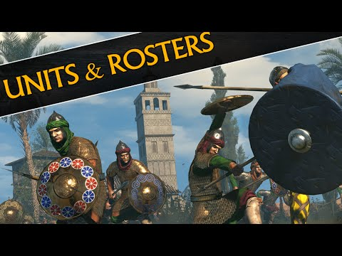 Age of Charlemagne - UNITS & ROSTERS (Total War: Attila)