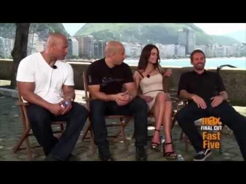 Paul Walker on Jordana Brewster - Fast 5