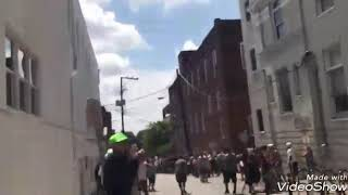 Car plows into protesters at Charlottesville far-right rally