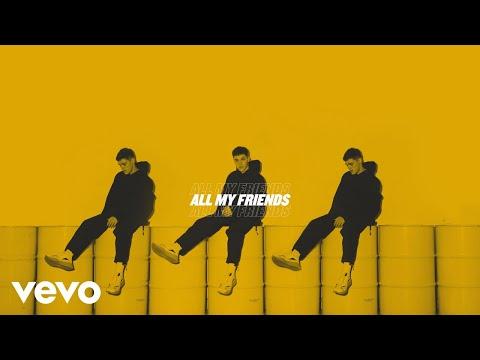 AJ Mitchell - All My Friends (Lyric Video) Mp3