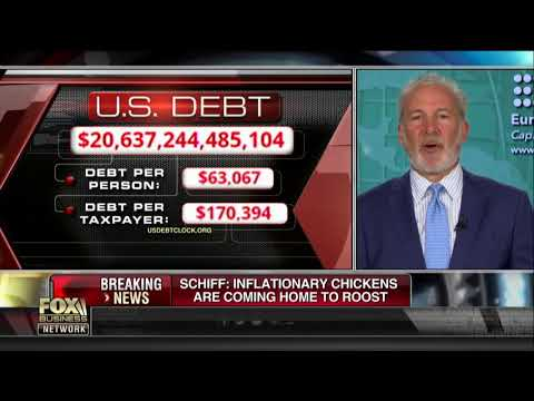 Peter Schiff Still Thinks Bond Yields Are Linked To Federal Debt Levels