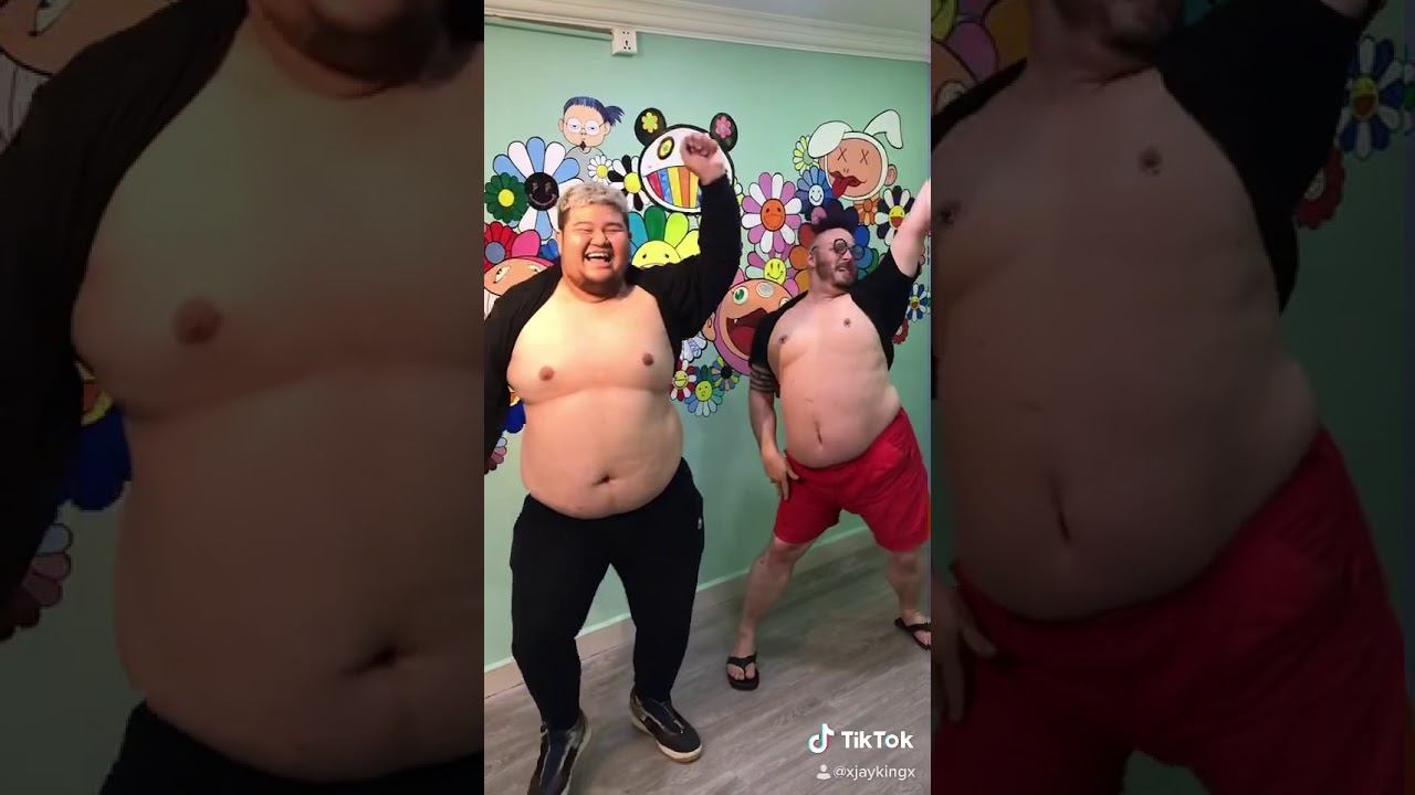 Fat guy edition: TikTok dance