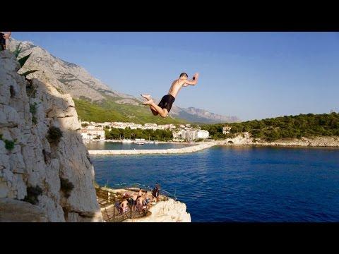 CLIFF JUMPING in CROATIA | 20 METRES!