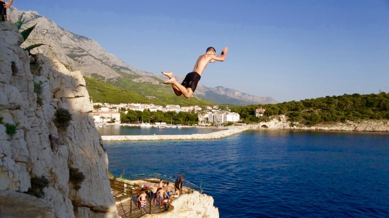 cliff diving near me