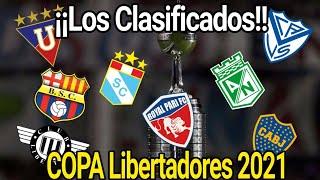 Estos son los Clubes que jugarán la Copa Libertadores 2021 | En busca de la Gloria eterna.