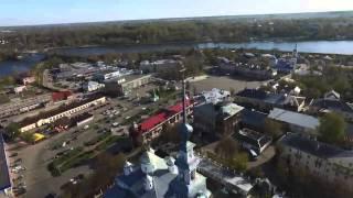 Фото Виды Кинешмы с высоты птичьего полета видео Дмитрия Голубева