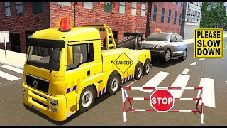 Tow Truck Driving Simulator - Tow Truck and Transport Cars Games - Android Gameplay Video