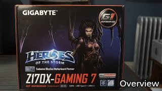gigabyte Z170X Gaming 7: Quick Unboxing