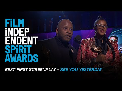 SEE YOU YESTERDAY Wins BEST FIRST SCREENPLAY At The 35th Film Independent Spirit Awards