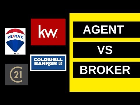 Real Estate Agent vs. Broker (Updated)