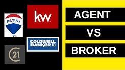 Real Estate Agent vs. Broker (Updated)