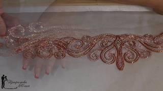 Люневильская вышивка.Платье для нашей Анечки