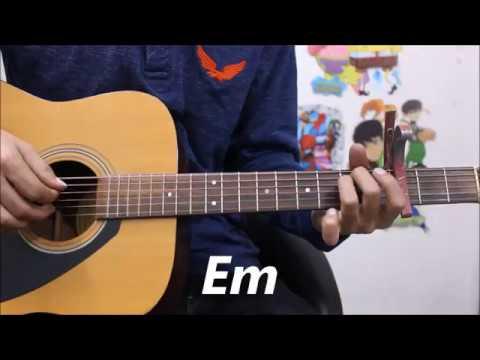 Lo Safar - Baaghi 2 - Hindi guitar cover lesson simple chords - Jubin Nautiyal