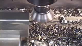 Haas VF-5/50 Рабочий процесс фрезерного станка ЧПУ