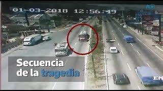 Accidente En San Cristóbal   Vea El Trayecto Del Tráiler Que Causó La Tragedia   Prensa Libre