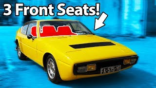 7 Cars With Weird Seating Configurations!! 💺