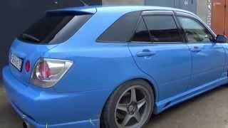 видео Toyota Altezza Gita, Subaru Impreza Wagon Turbo