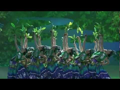 Beautiful Chinese Dance, Traditional 3 -- Calling Green Shade