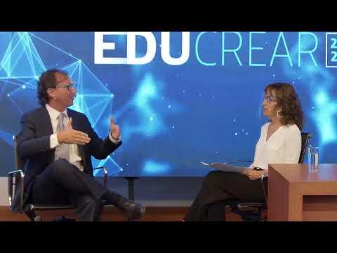 EduCrear 2021: Decana en conversación con Ministro de Educación