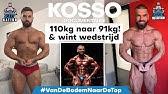 KOSSO DOCUMENTAIRE: Artiest, Bodybuilder & Ondernemer - 12 WEKEN DIEET #VANDEBODEMNAARDETOP