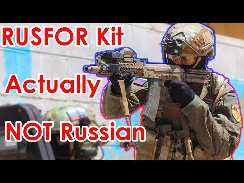 New Russian Kit Actually NOT Russian | Milsim West Azeri Front (E&L AK105 AEG)