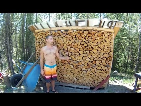 Diy Free Firewood Storage Shed Easy Diy Projects
