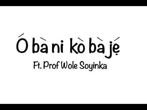 Have you ever seen Wole Soyinka speak in Yoruba? Watch!