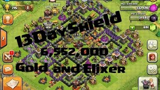 Clash Of Clans -13 Day Shield