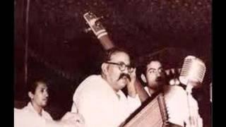 Ustad Bade Ghulam Ali Khan - Thumri in Raag Irani Bhairavin, 1957 @ Mahajati Sadan