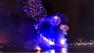 2016 new year celebrations from London