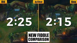 Fiddlesticks Remake Detail Comparison 2020 (Skill/JG Clear/Joke/Death/Skin)