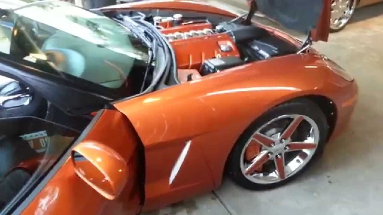 Atomic Orange C6 Corvette Youtube