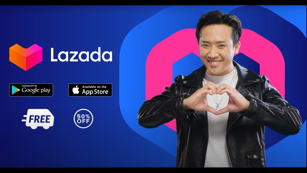 LAZADA | Nghe Trấn Thành bật mí cách shopping xịn sò trên app Lazada - YouTube